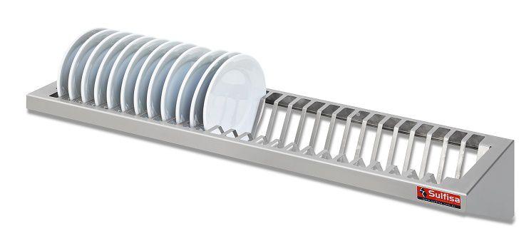 Escorredor de pratos 1 metro inox-SULFISA