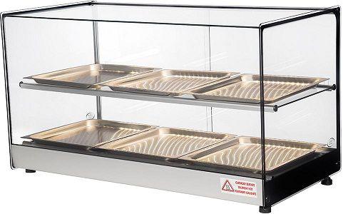 Estufa quadrada aquecida 6 bandejas erato 6b-titã