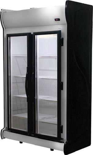 Expositor auto serviço 2 portas acfm1000-fricon