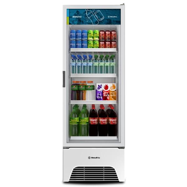 Expositor Porta de Vidro Para Bebidas 497 Litros VB52 OPTIMA-Metalfrio