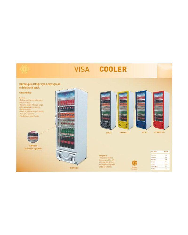 Expositor Refrigerador Visa Cooler 405 Lts - Polar