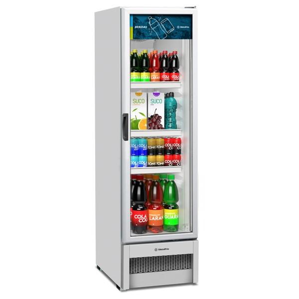 Expositor Slim para Bebidas 324 litros VB28R - Metalfrio