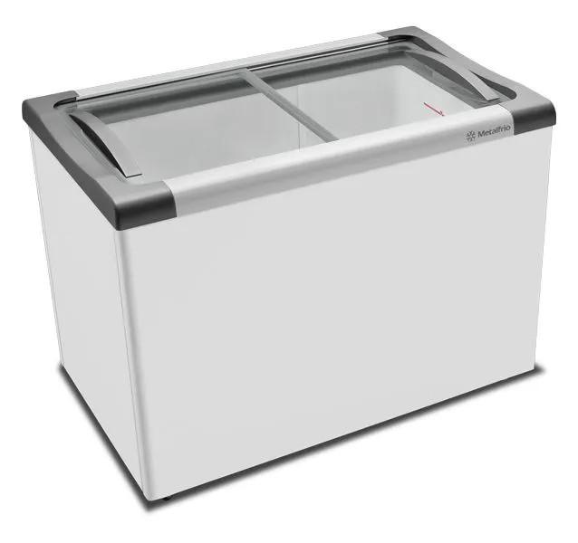 Freezer Horizontal Tampa de Vidro para Sorvetes e Congelados NF30S - Metalfrio