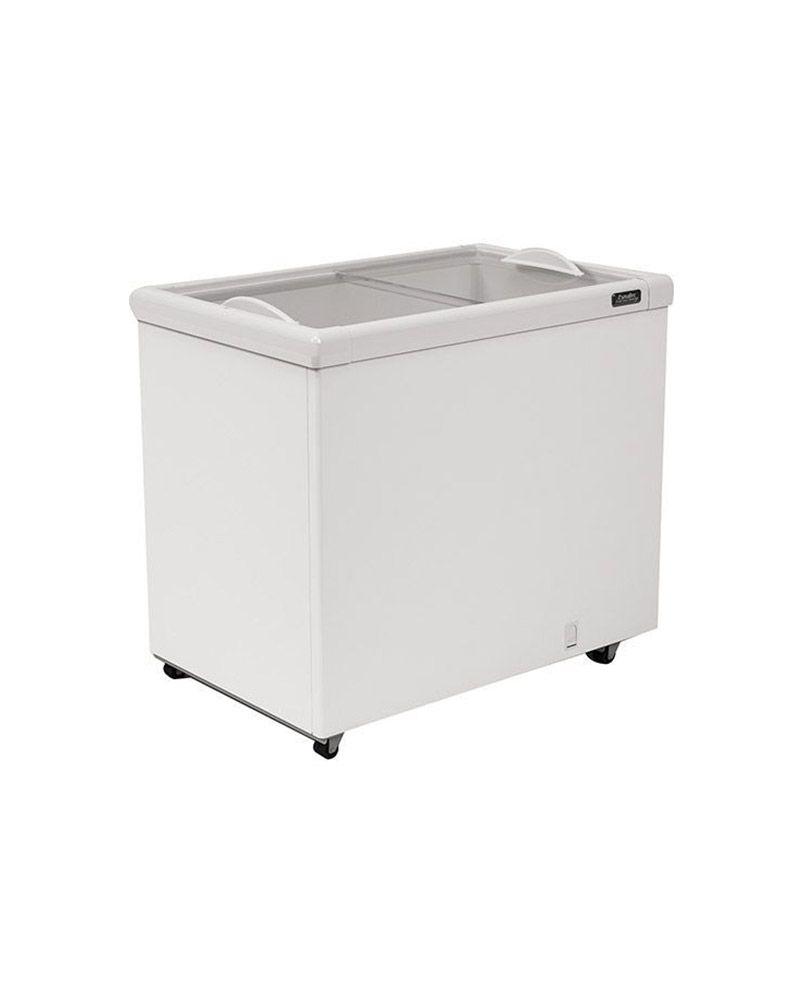 Freezer Horizontal  Tripla Ação Porta de Vidro AF 300 Esmaltec