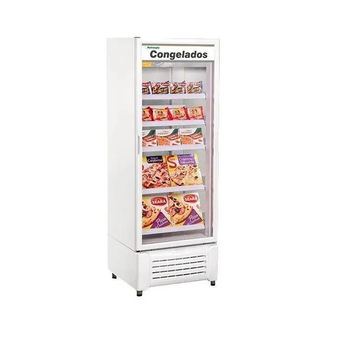Freezer Porta de Vidro Dupla Ação Para Congelados VCCG-600 Litros Refrimate
