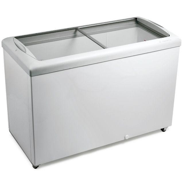 Freezer tampa de vidro para sorvetes e congelados hf40s-metalfrio