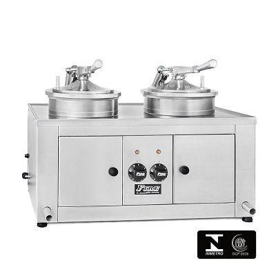 fritadeira de frango com tampa elétrica ff2b-fire