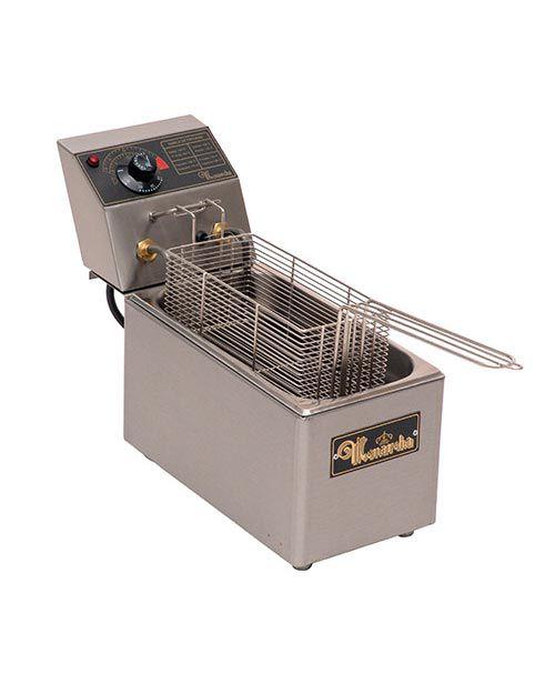 Fritadeira Elétrica 1 cuba (3.5 Lts óleo) - Monarcha FRE1CJR