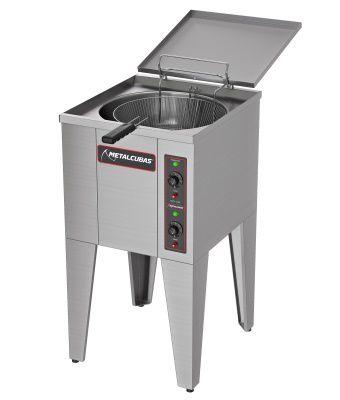 Fritadeira elétrica Água e Óleo 25 Litros 5000 WATTS -METALCUBAS