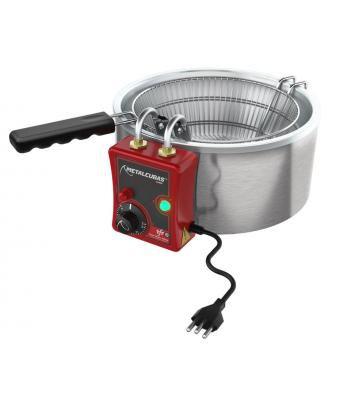 fritadeira redonda elétrica 3 litros TFRE 3-metalcubas