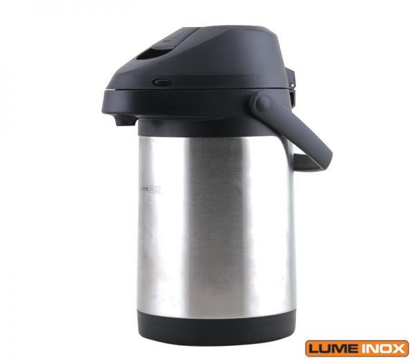 Garafa térmica profissional 3 litros inox lumeinox