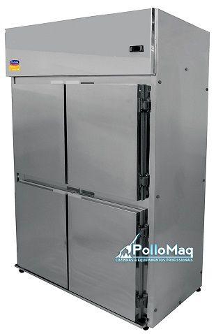 Geladeira refrigerador comercial 4 portas 650 Litros-klima