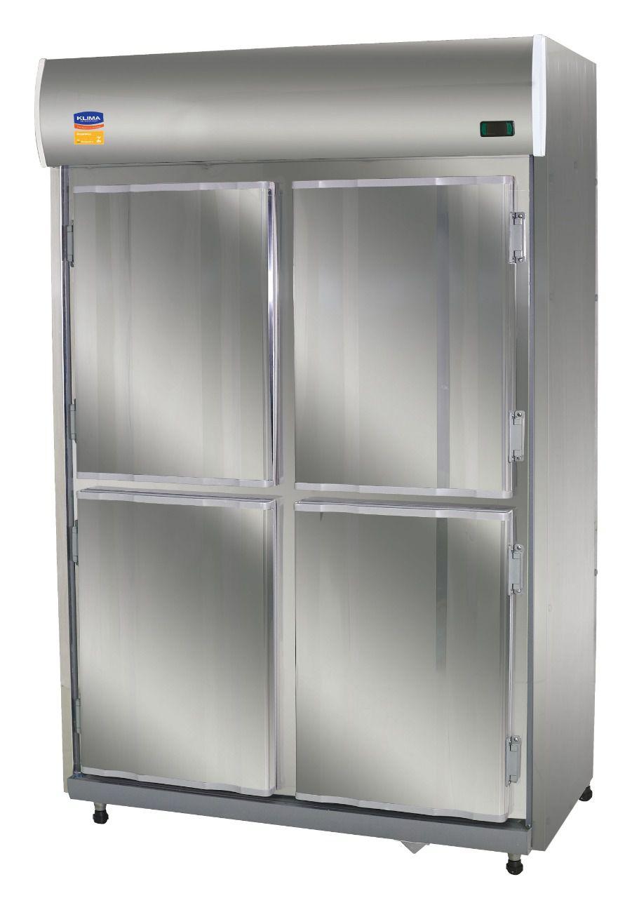 Geladeira  Comercial 4 Portas Inox  - Klima 358899
