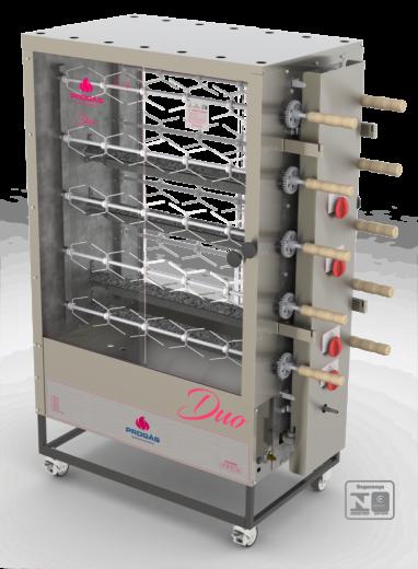 Maquina de Assar Frango Duplo a Gás 60 frangos PR6100 Progás