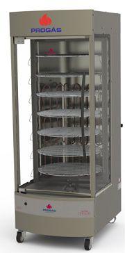 maquina de assar frango elétrica giratória prp-242-progás