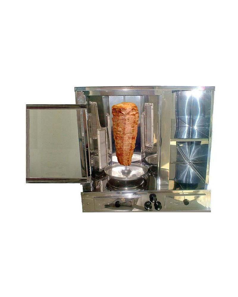 Máquina para Churrasco Grego de Bancada 1 Espeto - Manual
