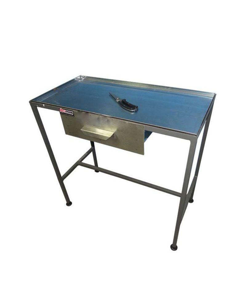 Mesa para Corte de Frangos 80x40 Com Gaveta - Promaq