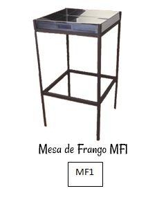 Mesa Pra Corte de Frango