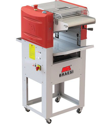 Modeladora de pães 35 Progas c/ nr12-BRAESI