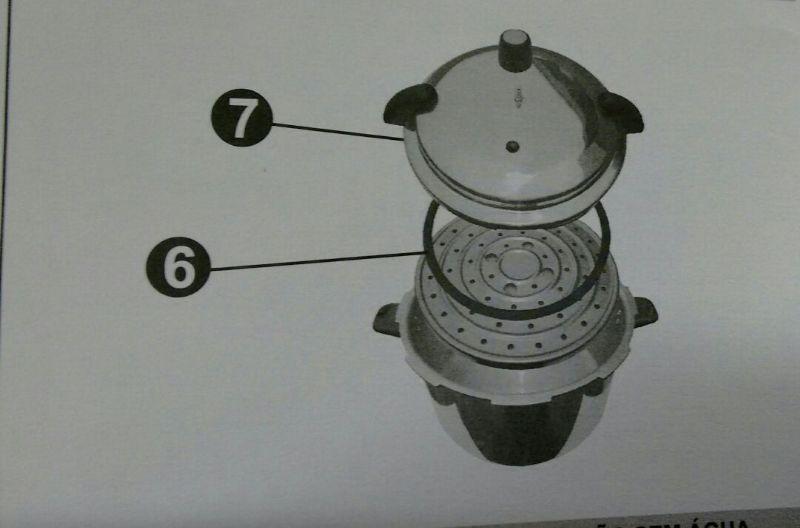 Panela De pressão 13 Litros Profissional Com 8 Travas - Eirilar