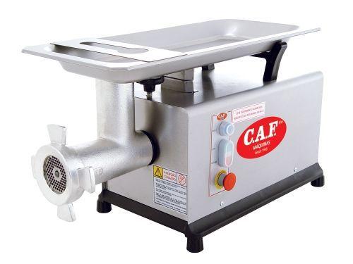 Picador e Moedor de Carne em Inox C/ Nr-12 - Boca 22 - CAF