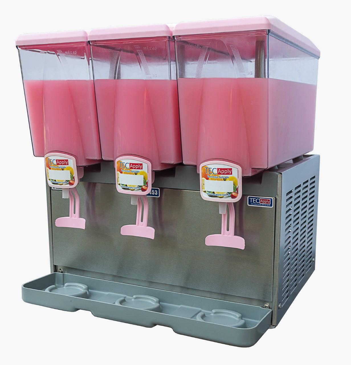 Refresqueira Suqueira 3 Cubas 45 Litros TECCAPLY
