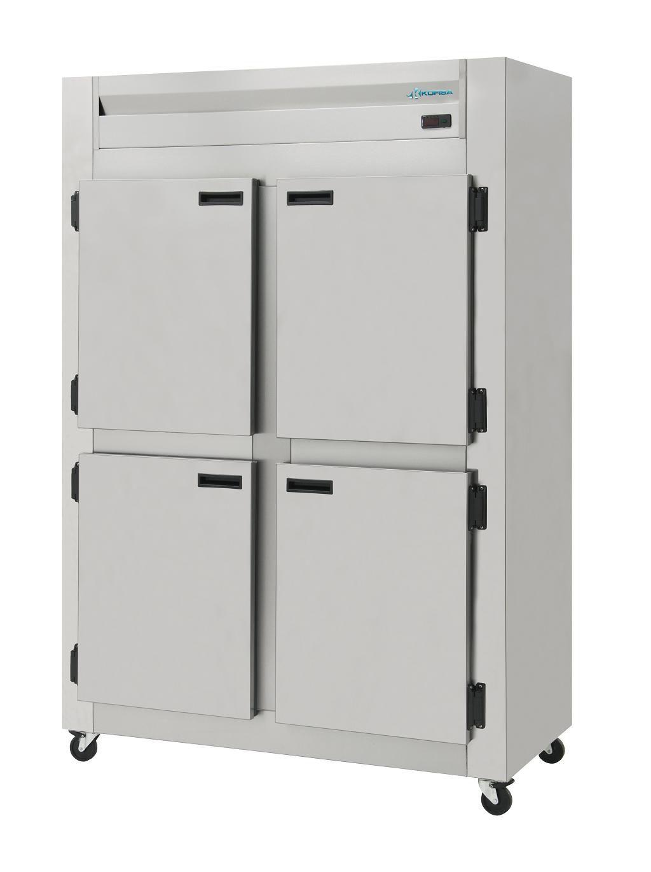Refrigerador comercial 4 portas inox 110 VOLTS-kofisa