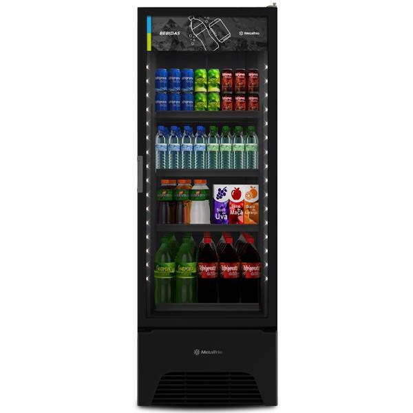 Refrigerador Expositor 497 Litros VB52AH All Black Metalfrio