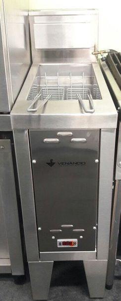 Super Fritador Água e Óleo Todo em Inox  30 litros  Venâncio