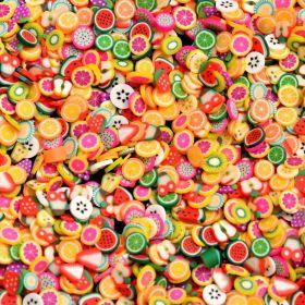 Aplique Salada de Frutas Pequeno 10g