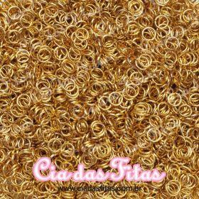 Argolinha de Ferro 0,9x6mm 10g Dourada