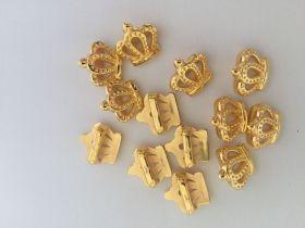 Coroas Dourada 12Uni