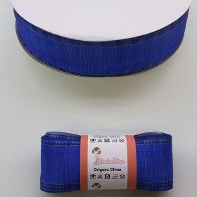 Fita de Gorgurão Jeans GF86 38mm x 5mts