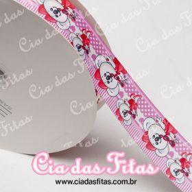 Fita de Gorgurão Sanding Lilica Rosa 38mm x 1mt
