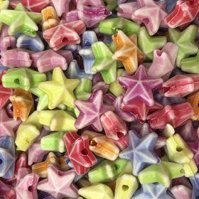 Miçanga Infantil Colorida Estrela do Mar 25g