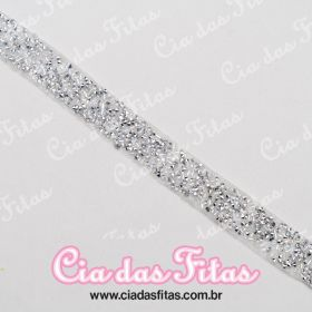 Strass com Manta colorida (Cascalho) 90cm