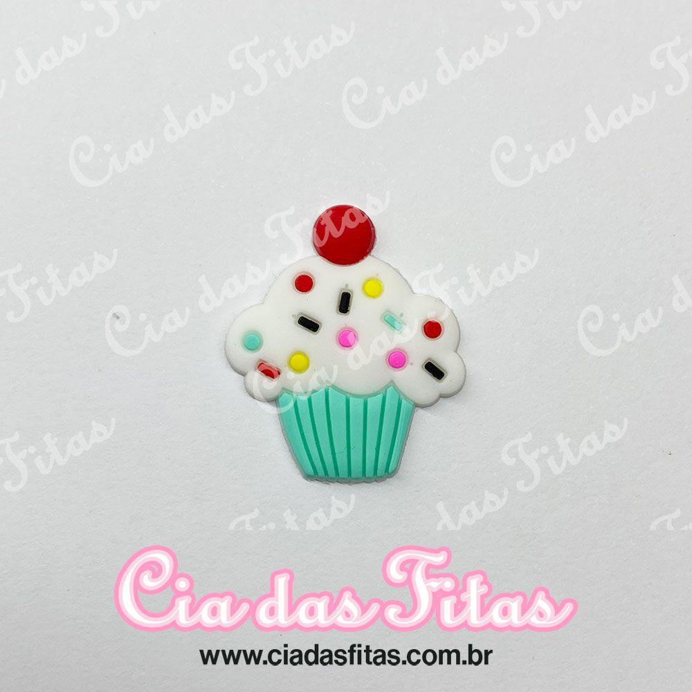 Aplique Emborrachado Cupcake (unidade)