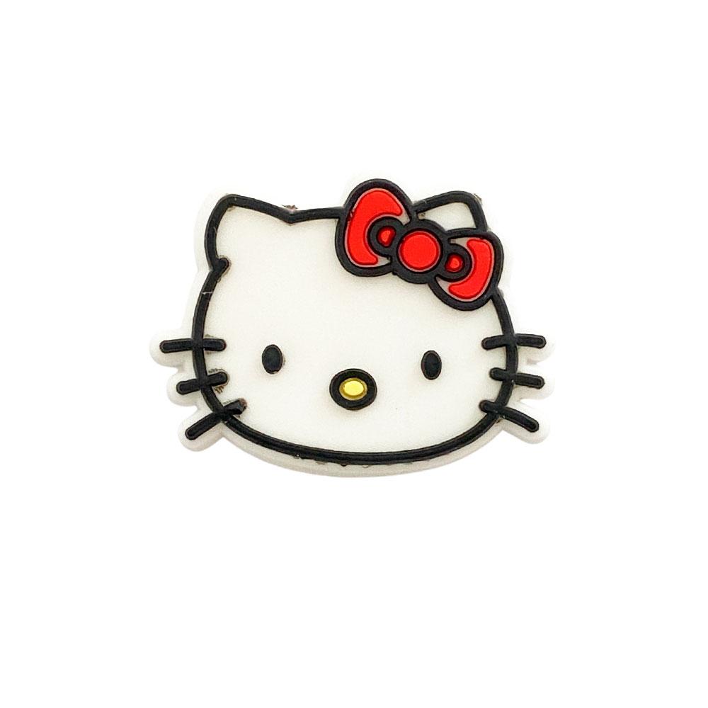 Aplique emborrachado Hello Kitty Rosto (unidade)