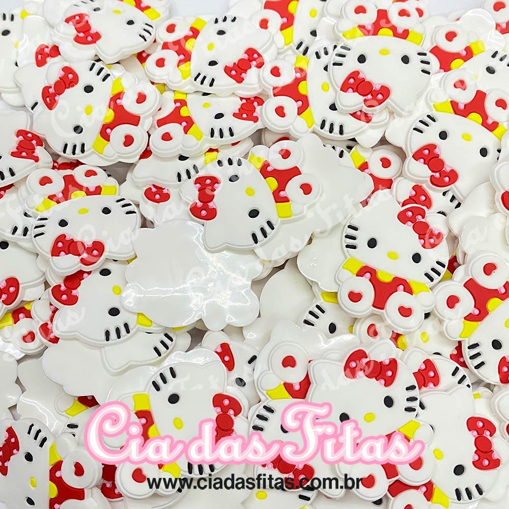 Aplique emborrachado Hello Kitty (unidade)