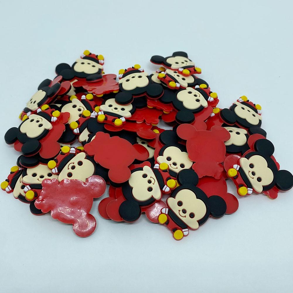 Aplique emborrachado Mickey Mini (unidade)