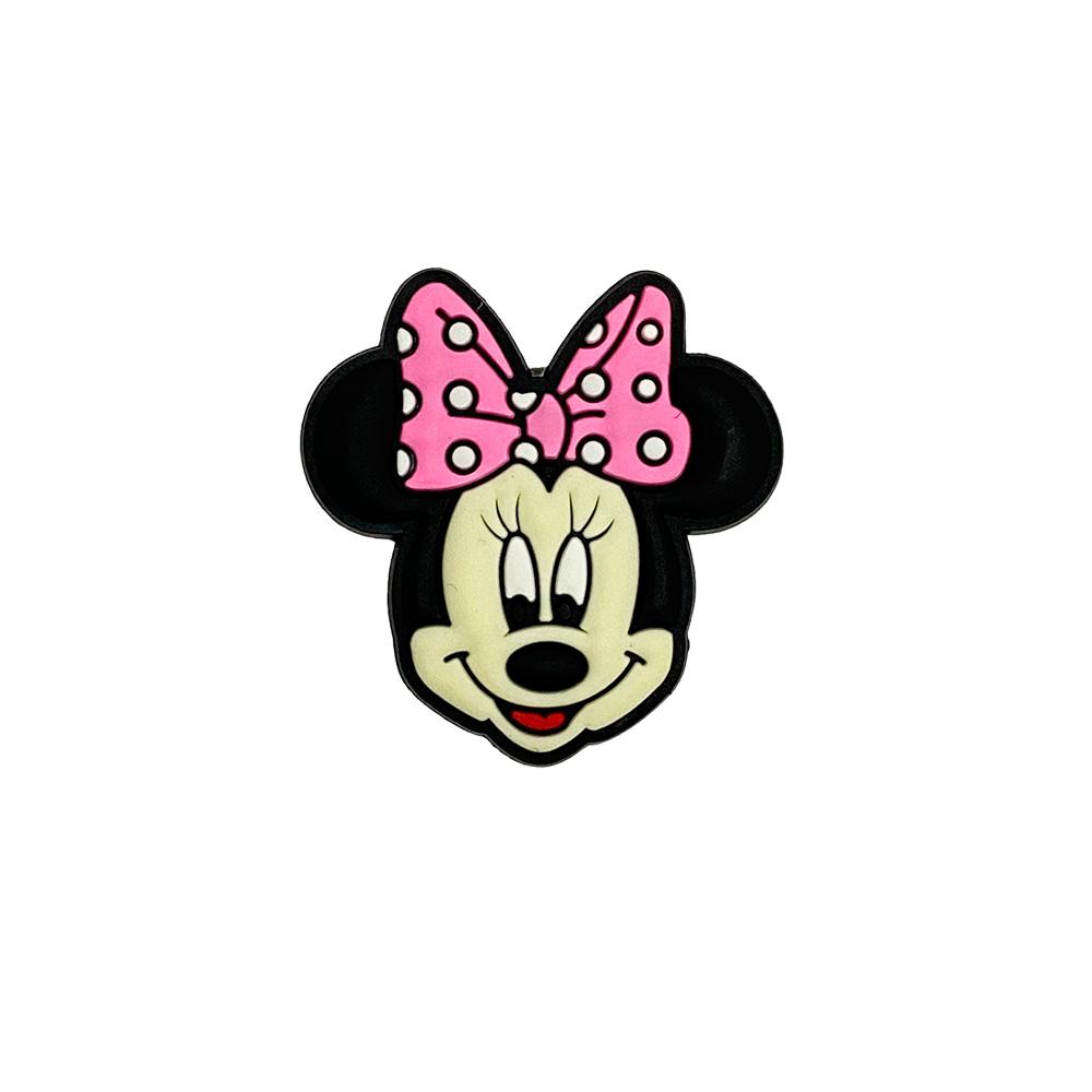 Aplique emborrachado Minnie Laço Pequena (unidade)