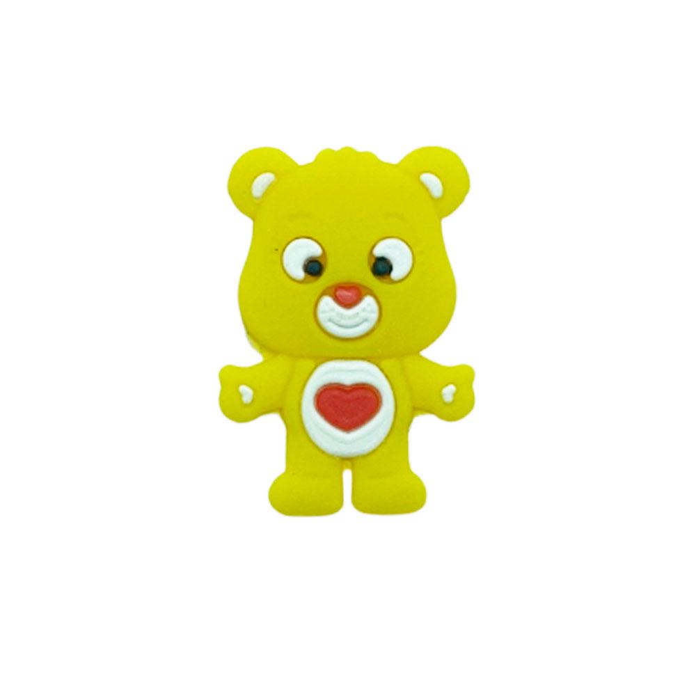 Aplique emborrachado Ursinho Coração (unidade)