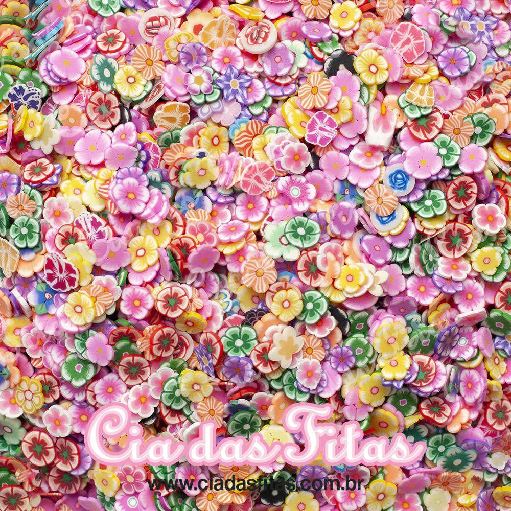 Aplique Flores Pequeno 10g
