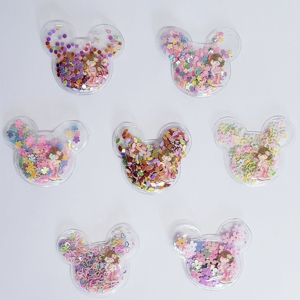 Aplique Transparente Minnie 5cm