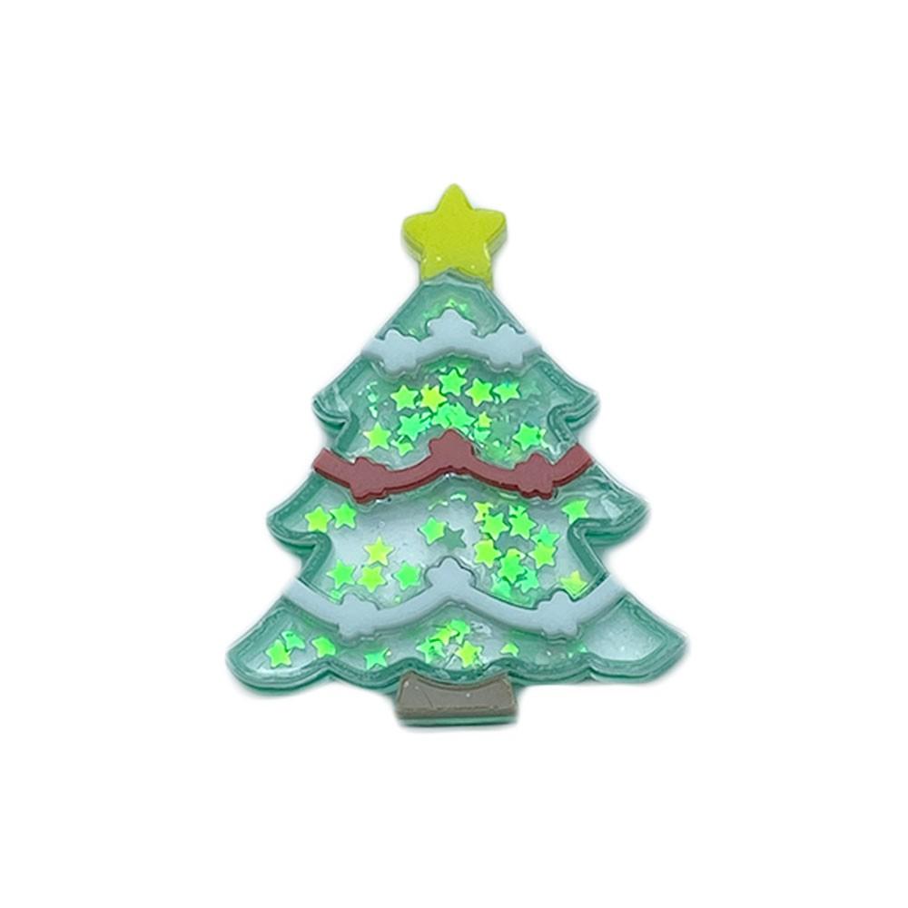 Aplique Vazado de Acrílico  Arvore de Natal Estrelinha (unidade)