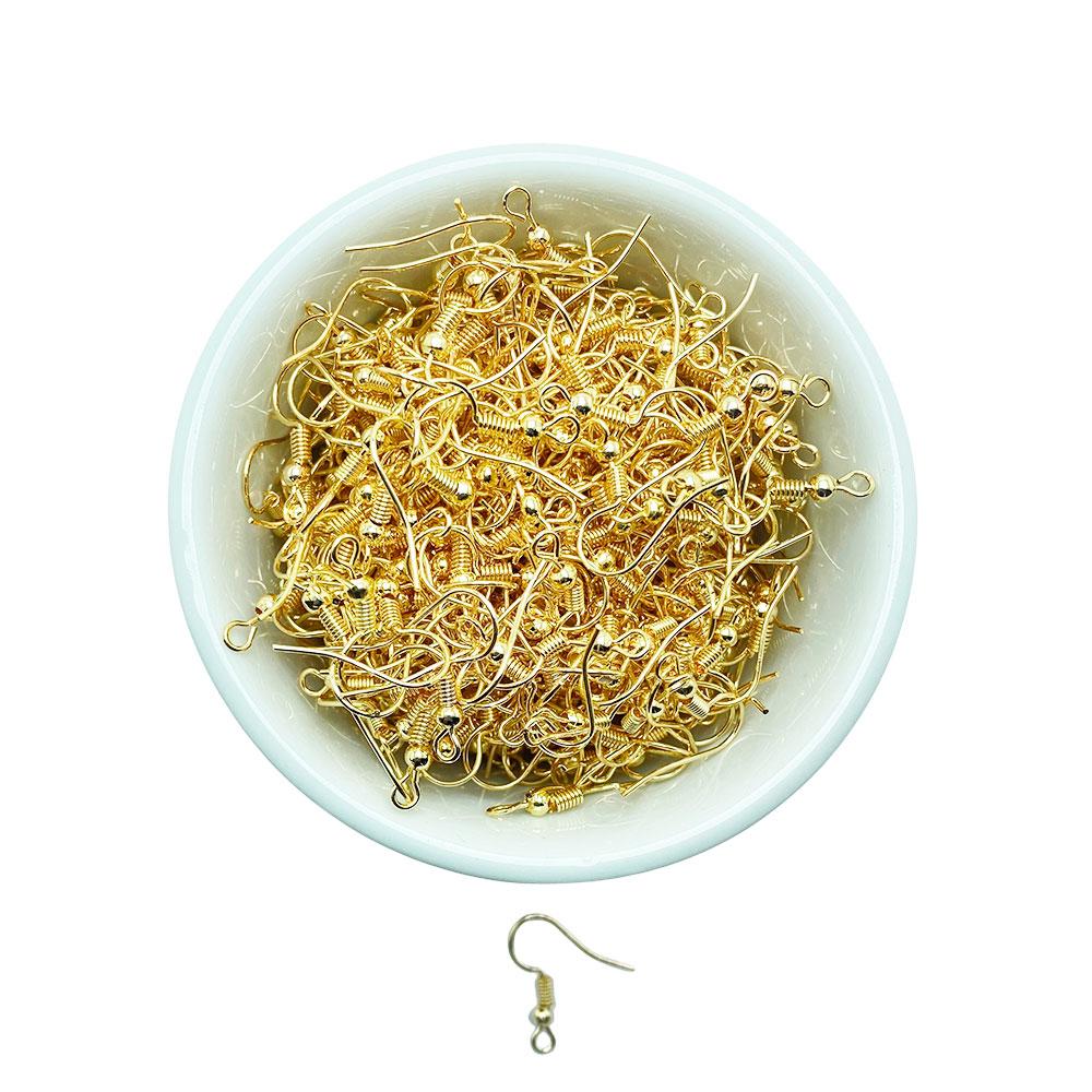 Base Para Brinco Dourado (Tipo Anzol) 10 Gramas