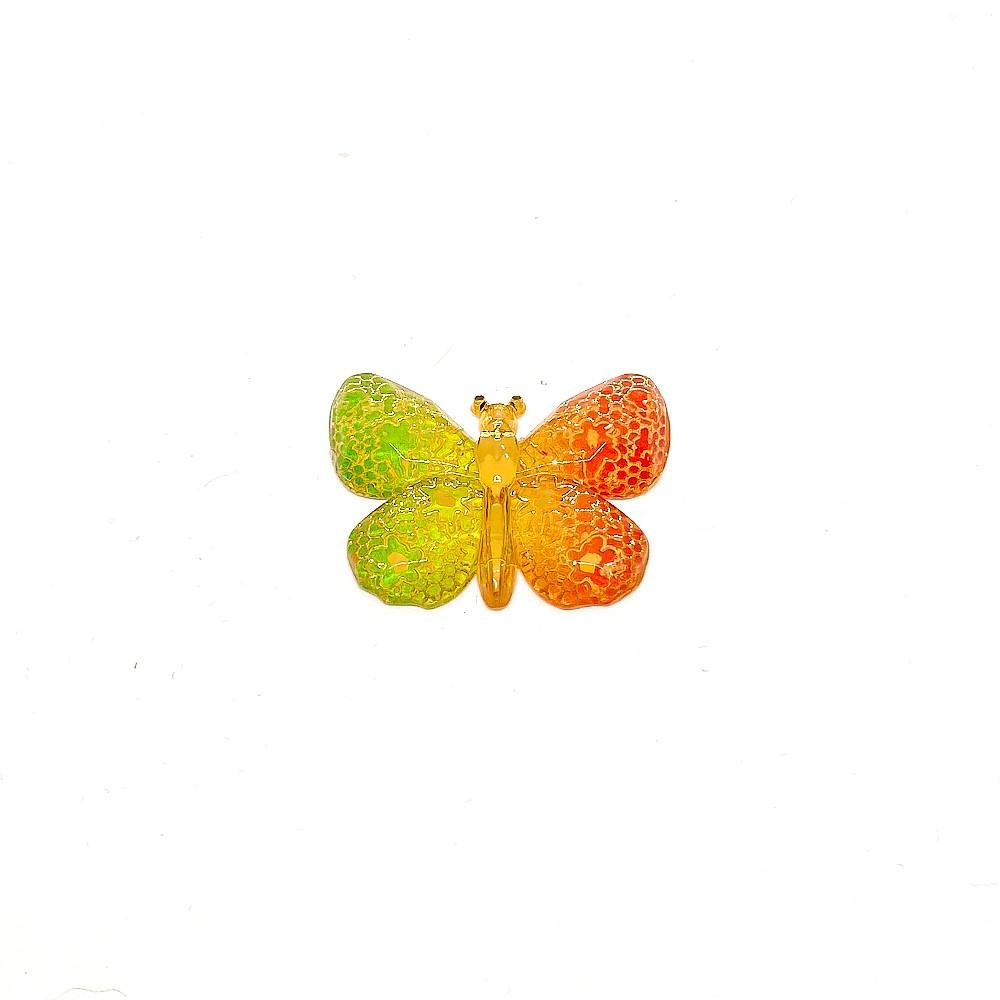 Borboleta Plastica com furo 2,5cmx3,2cm