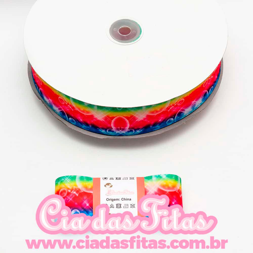 Fita de Gorgurão Colorida GF103 38mm x 5mts