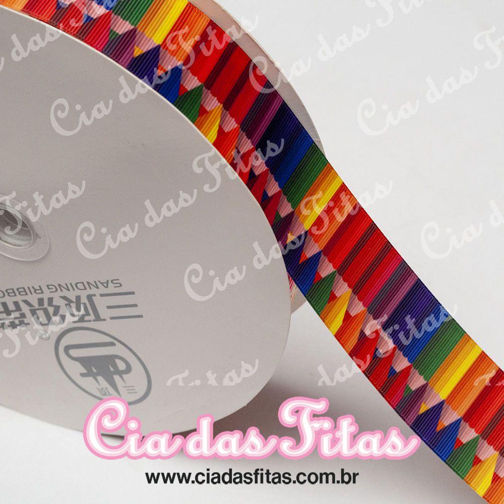 Fita de Gorgurão Sanding Lapis 38mm x 1mt