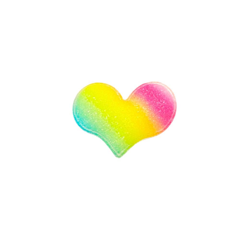 Coração Almofadado candy  5cmx4cm